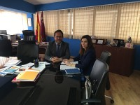 Guillén con el Director General en Seguridad Ciudadana y Emergencias