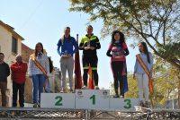 podio femenino de la prueba orientación mtb de Albudeite