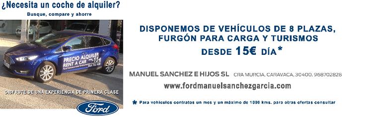 FORD CARAVACA