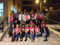 Foto de la gran familia de la Junta Loca de la Asociación Española Contra el Cáncer de Bullas