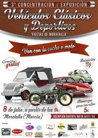 Cartel Vehiculos Clasicos Moratalla 2018(1)