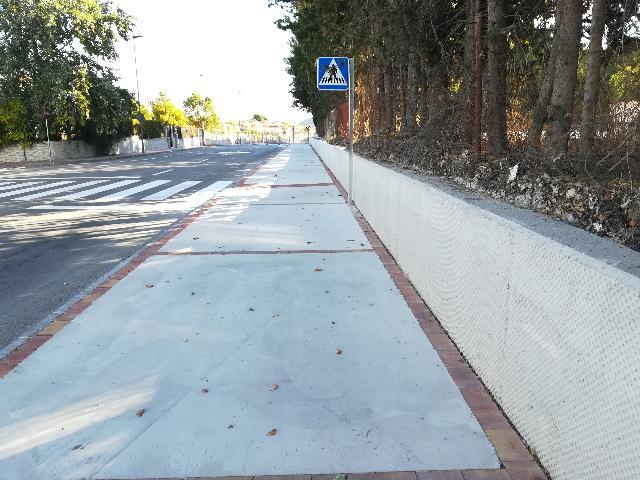 Finalizadas las mejoras en las calles Mariano Rojas y La Huerta en Bullas
